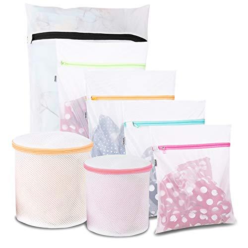 Eono by Amazon - Wäschenetz Wäschesack BH Wäschetasche Wäschebeutel Laundry Bag Haltbar Maschinenwaschbeutel für Empfindliches, Bluse, Schuhe, BH, Unterwäsche, Babykleidung, Wash Bag, 7 Set