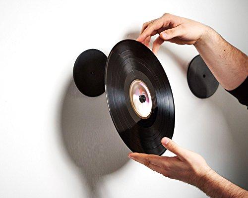 Damit halten deine Schallplatten auch ohne Rahmen