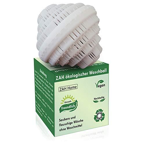 ZAH ökologischer Waschball, Saubere Wäsche ohne Waschmittel, Baby Waschmittel für Allergiker, Waschkugel, Bio Waschball, Vegan, Bio Waschmittel, Nachhaltige Produkte, Weihnachtsgeschenke, Zero Waste