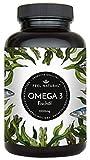 Omega 3 Fischöl Kapseln - 365 Kapseln im Jahresvorrat - Hochwertig: 1000mg Fischöl je Kapsel und den Omega 3 Fettsäuren EPA und DHA – aus nachhaltigem Fischfang, ohne unerwünschte Zusätze