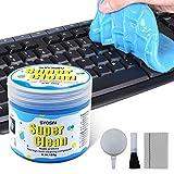 SYOSIN Tastatur Reinigung Auto Reinigungsgel Universeller Staubreiniger für Laptops, Computers, Auto-Entlüftungsöffnungen, Taschenrechner (135g)