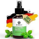 LE CUISINIER Veganes Basilikum Extrakt Haare - zur Haarkur und Haarpflege, Natürliches Hair Growth Spray für gepflegte Haare, Effektiv zum Haarwachstum beschleunigen, Basilikum Haarkur,Haarmaske 100ml