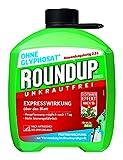 Roundup AC Unkrautfrei, Fertigmischung zur Bekämpfung von Unkräutern, Gräsern und Moos, 2,5 Liter Kanister