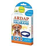 ARDAP Zecken- & Flohschutzhalsband für Hunde bis 25kg - Bis zu 4 Monate nachhaltiger Langzeitschutz - Natürlicher Wirkstoff gegen Zecken & Flöhe