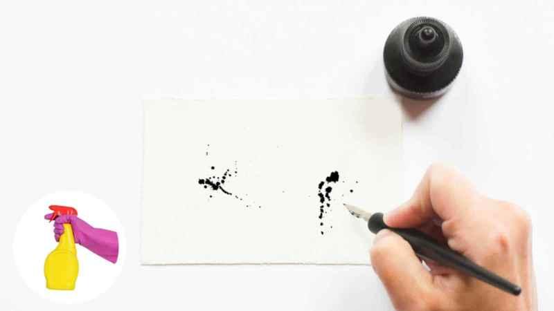 Kugelschreiberflecken entfernen: So geht's!
