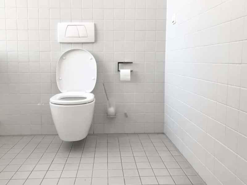 toilette reinigen