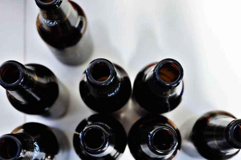 viele Flaschen Bier