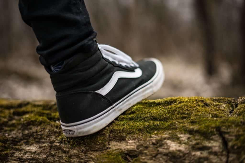 Kaugummi am Schuh