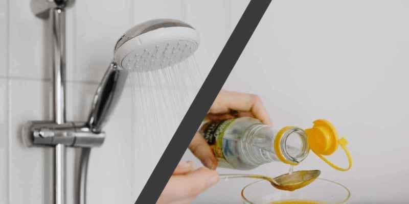 duschkopf entkalken mit essig